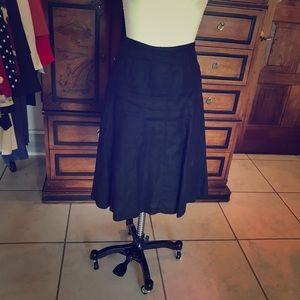 Talbots Black Skirt